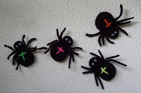 Anleitung Fur Gehakelte Spinne Z B Fur Halloween In 2020 Halloween Hakeln Halloween Deko Hakeln Spinne