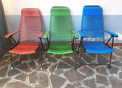 Sdraio Da Giardino Verona.Sedie Sdraio Anni 70 3 Pz Outdoor Furniture Sets Outdoor