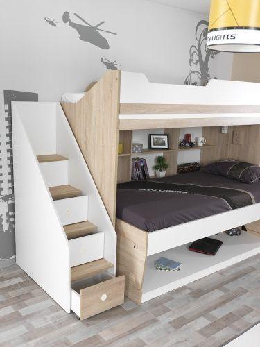 Treppe Fur Das Etagenbett City In 2020 Etagenbett Bett Und