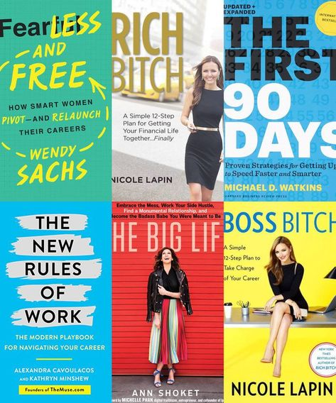 7 Finance and Career Books for Women