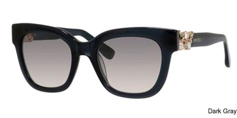 92dd02a7f0f Jimmy Choo Maggie S Sunglasses Frames Dark Gray