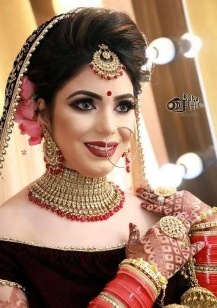 Bridal Hairstyles Indian Weddings Muslim 46 Best Ideas Bridal Hairstyle Indian Wedding Bridal Hair Allure Bridal Gowns Lace