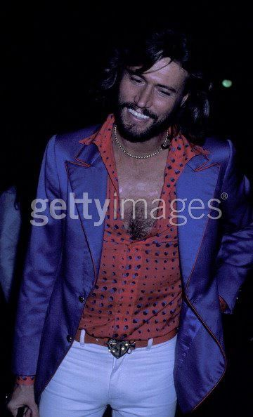 Barry Gibb...He looks really good in this picture.