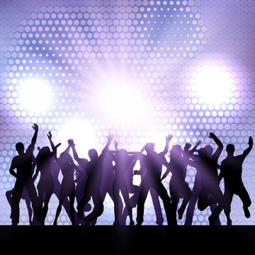 Party Crowd Background 0108 Background Party People Png And Vector With Transparent Background For Free Download Dance Vector Friends Illustration Silhouette Vector