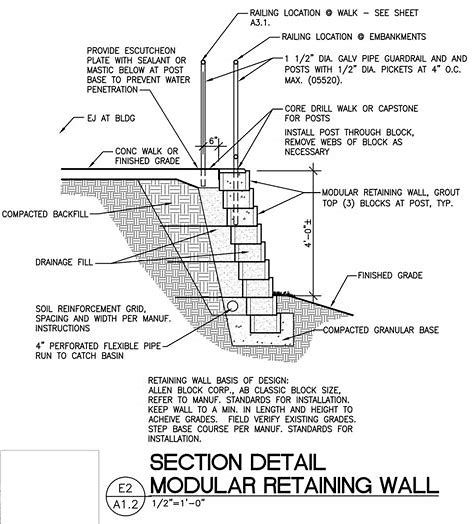 Image Result For Water Retaining Wall Construction Details Retaining Wall Construction Retaining Water Retaining Wall