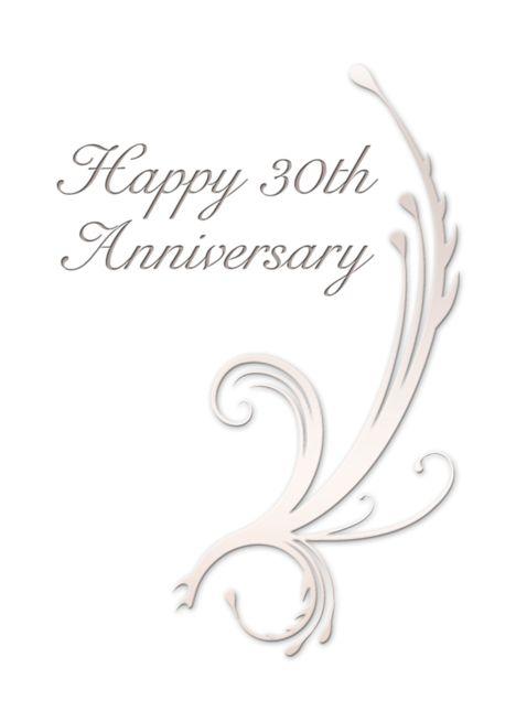 Happy 30th Anniversary Vines On White Background Card Ad Affiliate Anniversary Ha Happy 40th Anniversary Happy 10th Anniversary Happy 25th Anniversary