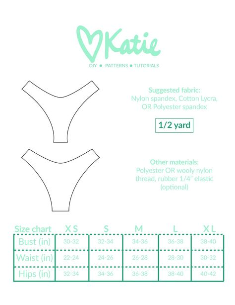You will receive a PDF pattern to to follow along with the the DIY video found on YouTube and linked in the PDF. Includes sizes XS-XL. Pattern is for BOTTOMS ONLY PDF downloads are instantly available after checkout. Pattern will also be emailed to you. Returns not accepted on this item Visit me on YouTube