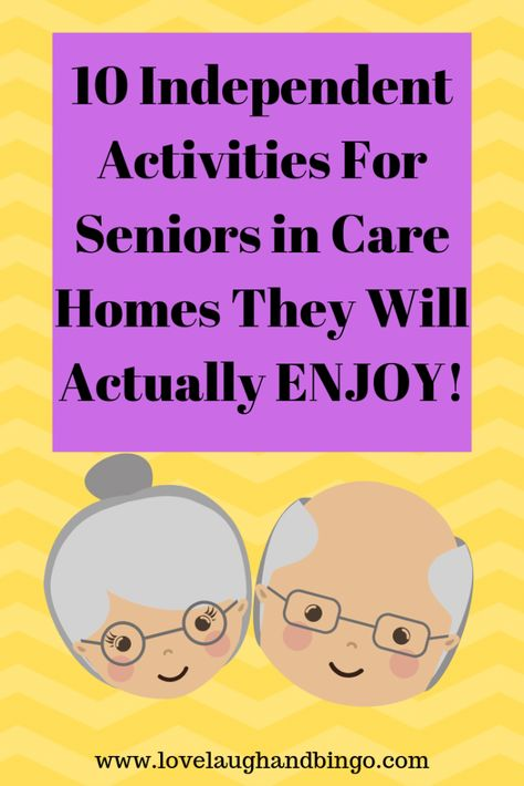 10 Independent Activities For Seniors -