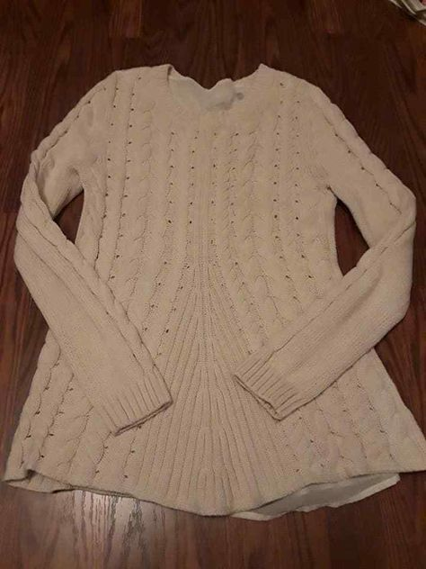 a17d905512 Cabi Lace Up Sweater Cable Knit Size S corset ivory cream RARE  3157  54077   CAbi  BoatNeck
