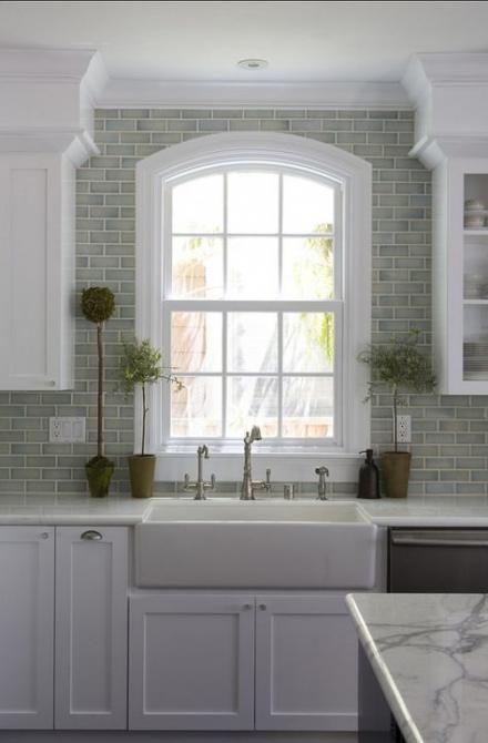 64 Ideas For Kitchen Sink Ceramic Window Trendy Kitchen Tile Kitchen Tiles Design Kitchen Remodel