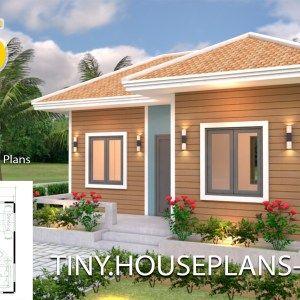 3 Bedrooms Modern House Style 36x45 Samphoas Plan Shed Floor Plans House Plans Modern Style Homes