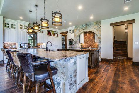 Red Oak 2.25 #2 Double Scrape Antique Brown Hardwood Floor