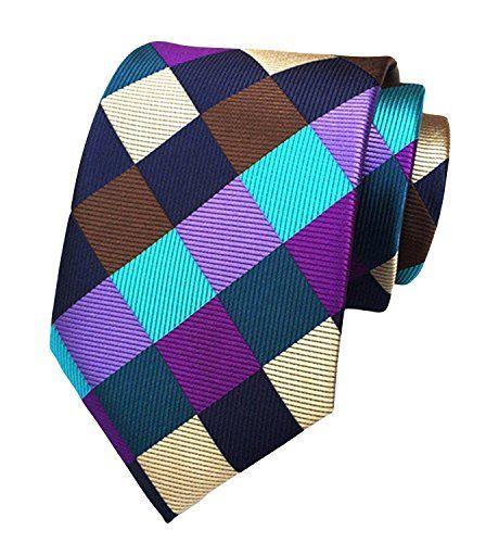 Purple Knightsbridge Neckwear Mens Glitter Skinny Tie