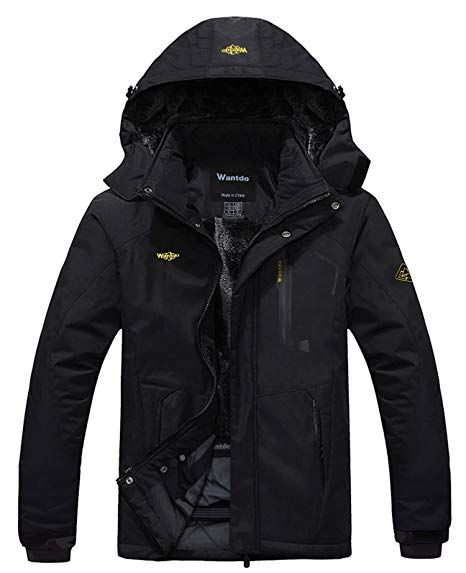 CIOR Mens Mountain Waterproof Ski Jacket Windproof Rain Jacket /…