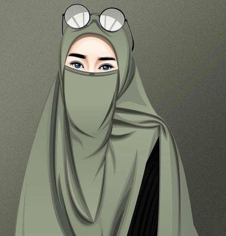 75 Gambar Kartun Muslimah Cantik Dan Imut Bercadar Sholehah Lucu Gambar Di 2020 Gambar Kartun Wanita