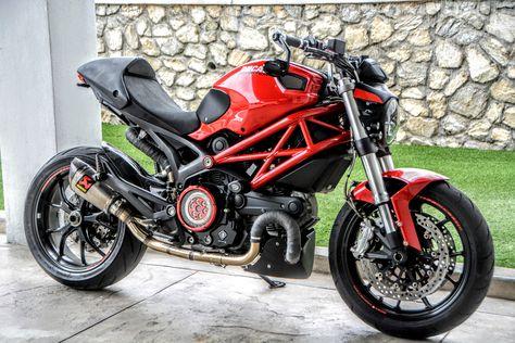 Ducati Monster 796 1100 Carbon Fiber Rear Fender Hugger