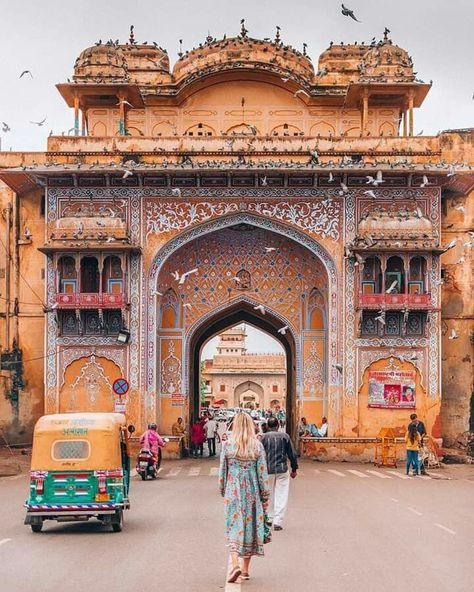 Jaipur, Rajasthan  Pic credit :- theviewswechase   -  #indiaAsia #indiaCountry #indiaPeople