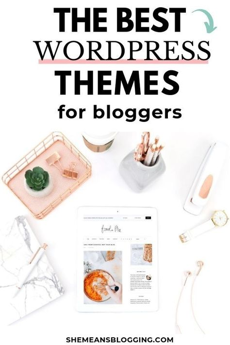 15+ Best Premium Wordpress Themes For Bloggers in 2020