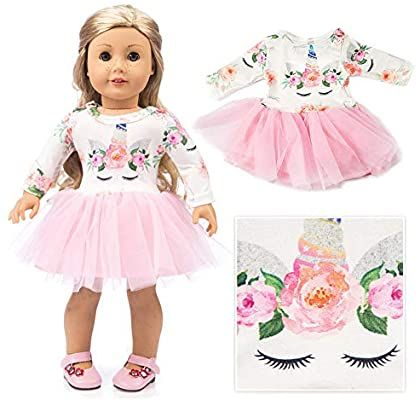 Casual Fleece Doll Slippers for 18 Inch Girl Doll Daily Wear Accessories