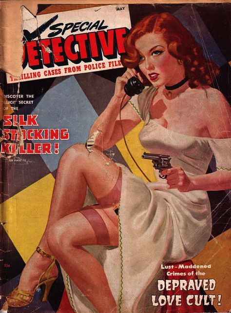 Special Detective: Lust-Maddened Crimes of the Depraved Love Cult! (Who could ask for more?)