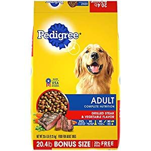 Pedigree Complete Nutrition Adult Dry Dog Food Grilled Steak