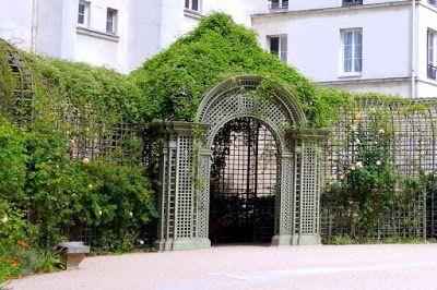 Paris Le Jardin Anne Frank Ilot De Verdure Meconnu Iiieme