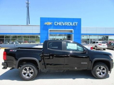 2018 Chevy Colorado Black With Special Price More At Chevrolet
