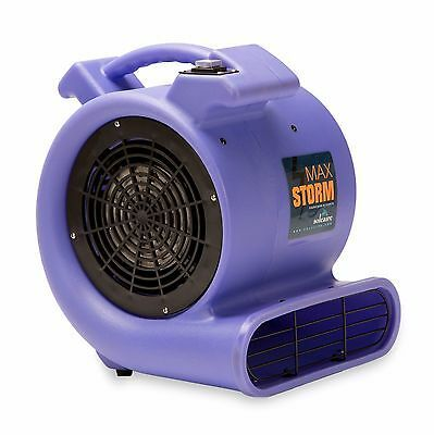 Soleaire Max Storm 1 2 Hp Air Mover Carpet Dryer Floor Blower Fan Purple In 2020 Squirrel Cage Janitorial Blowers