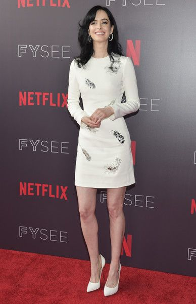 Krysten Ritter arrives at the #NETFLIXFYSEE event for 'Jessica Jones' at Netflix FYSEE.