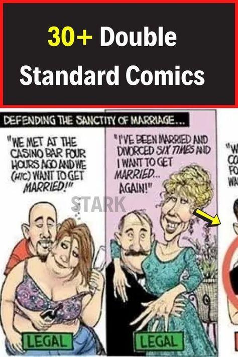 30+ Double Standard Comics #funny #viral #trending