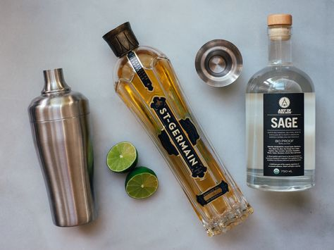 Sage French Gimlet Recipe — Fix Feast Flair