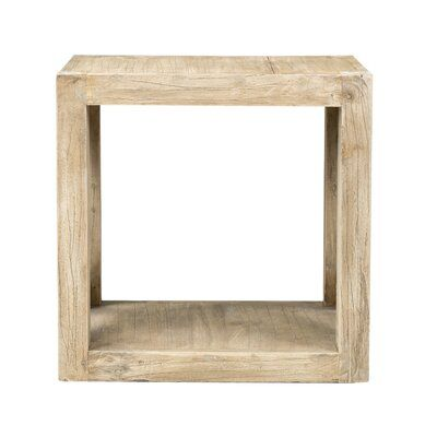 Birch Lane Heritage Wrightstown End Table Solid Wood Flooring Wood End Tables End Tables