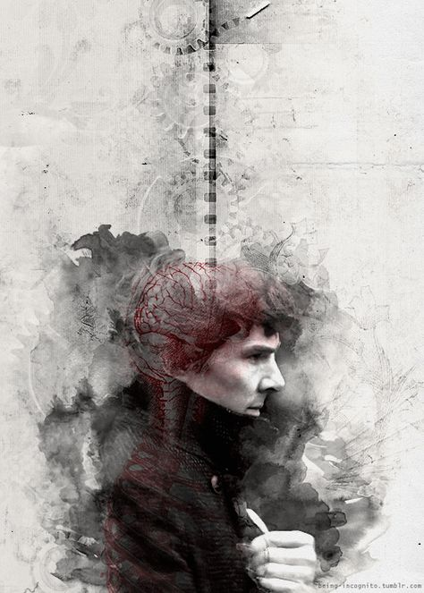 Sherlock Holmes (Animated) The Brains of the Operation | Artist Unknown