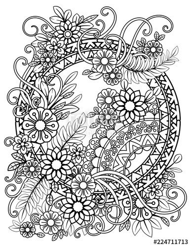 Found On Bing From Www Fotolia Com Pattern Coloring Pages Mandala Coloring Pages Flower Coloring Pages