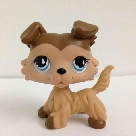 LITTLEST PET Animals Collection LPS Figure Girl Collie Dog Without Magnet DWA377-in Action & Toy Figures from Toys & Hobbies on Aliexpress.com | Alibaba Group