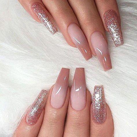 nail shapes ballerina Nailart #bestnailshapes