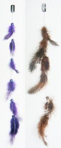 2 X Natural Feather Hair Extensions Grizzly Hair Extension Clip in on Beauty Salon Supply Wholesale Lot New by opt. $5.99. Material: Natural Feather. User Friendly: Make your own hair style.. 2 X Real Natural Dyed Grizzly Feather Hair Extensions Clip In On Beauty Salon Supply Wholesale Lot New. Package Includes: 2 pieces dyed Natural Feathers hair extensions.. Length: about 14 (35cm). Real Natural Feather Hair Extensions Grizzly Hair Extension Clip in. Make yo...