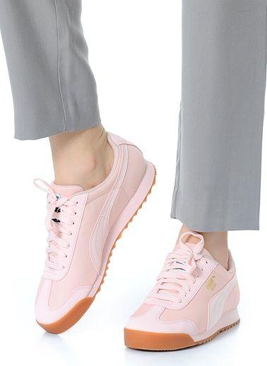 Puma 359841061 Roma Basic Summer Jr Pink Dogw | Kadın