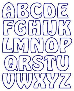 Printable bubble letters letter templates template and letter set free applique patterns applique letters letter fonts alphabet letters christmas letter template alphabet templates raising kids free paper spiritdancerdesigns Gallery