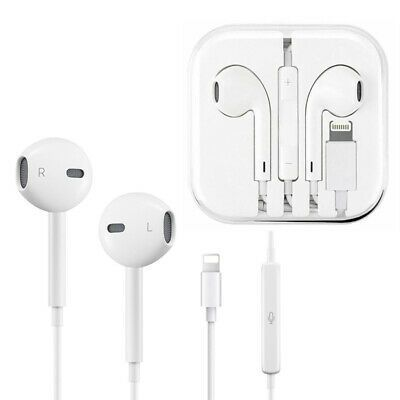 For Apple Iphone 7 8 P X Xs Max Xr Wired Earbuds Bluetooth Headphones Headset Iphone Earbuds Headsets