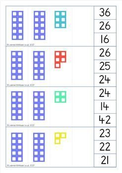 Tens Frame Clip Cards To 30 By Learn With Miss W Teachers Pay Teachers In 2020 Ten Frame Numicon Activities Numicon