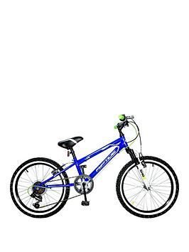 Riptide 10 Inch Frame 20 Inch Wheel 6 Speed Mountain Bike Blue 20 Inch Wheels Bike Kids Bike