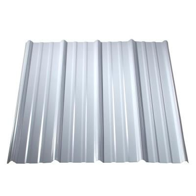 Metal Sales 16 Ft Classic Rib Steel Roof Panel In Charcoal 2313617 The Home Depot Metal Roof Panels Corrugated Metal Roof Steel Roof Panels