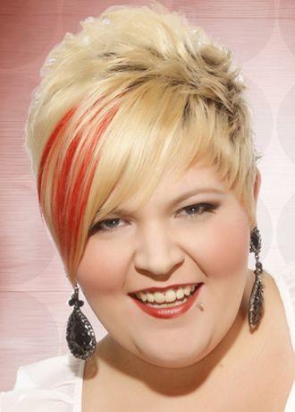 Modische Frisuren 2018 Fur Ubergewichtige Madchen Und Frauen Kurz Haar Frisuren Modische Frisuren Styling Kurzes Haar Frisur Kurz Rundes Gesicht