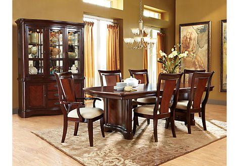 Shop for a Granby 5 Pc Double Pedestal Dining Room at Rooms To Go. Find Dining Room Sets that will look great in your home and complement the rest of your furniture.