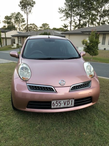 Nissan Micra K12 2008 Auto Cars Vans Utes Gumtree Australia Brisbane South West Forest Lake 1190738654 Nissan Forest Lake Fiat 500 Pink