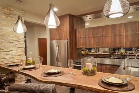 Keuken Design Inspiratie : Landelijke keuken ontwerpen tips inspiratie durchgehend keuken
