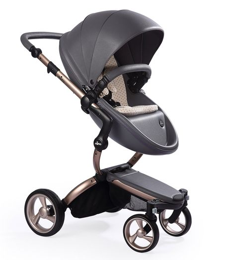 bb6dcd2fa1a9d Rose Gold Revolution - Pushchair Expert This stroller is runway material!