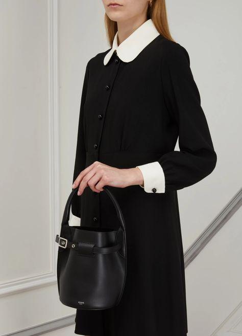 Women's Nano Big Bag bucket bag in smooth calfskin   Celine   24S   24S