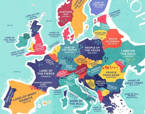 Recently we featured a world map that labels each country not with ...